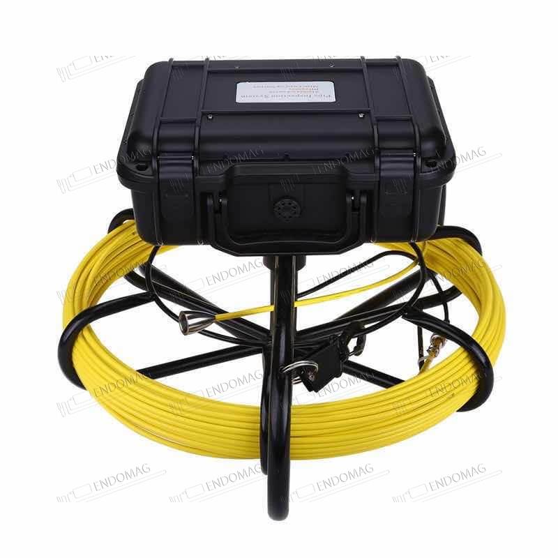 Технический промышленный видеоэндоскоп для инспекции труб Eyoyo ZB0859OG, 100 м, с записью - 3
